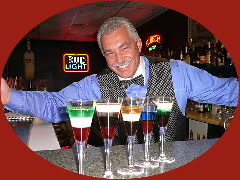 Sacramento Bartending School instructor Daniel